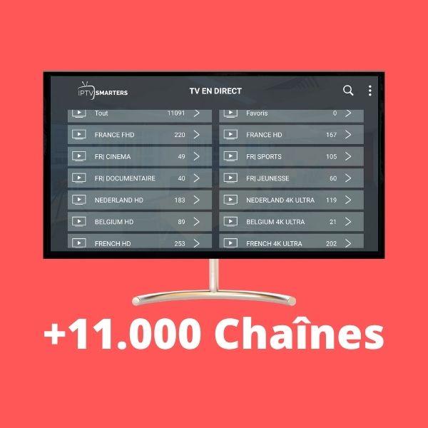 chaines iptv premium