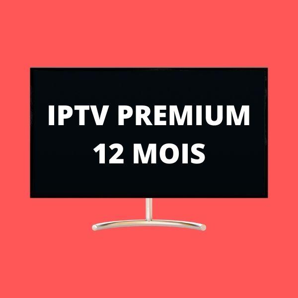 iptv premium 12 mois