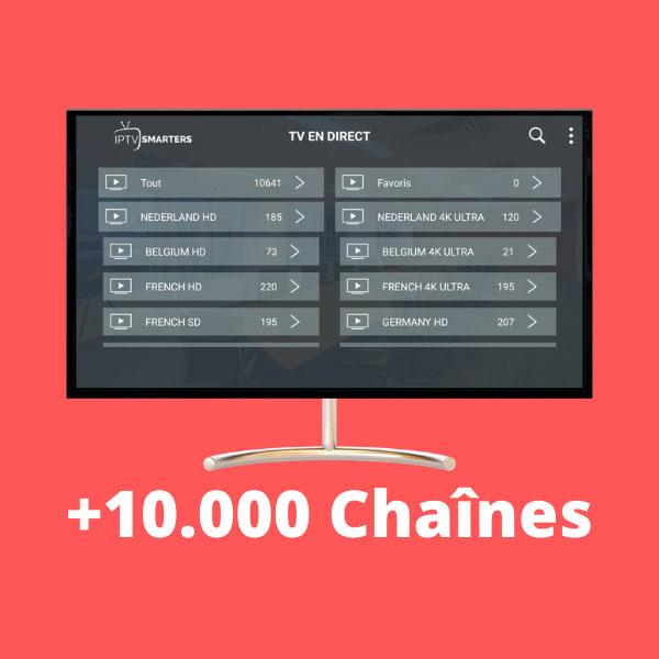 Chaines iptv