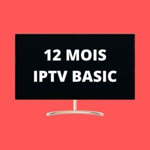 12 MOIS IPTV BASIC