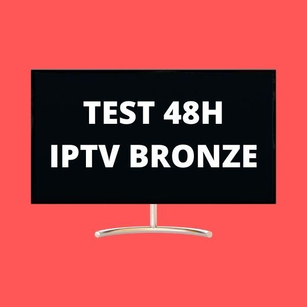 TEST iptv 48H bronze