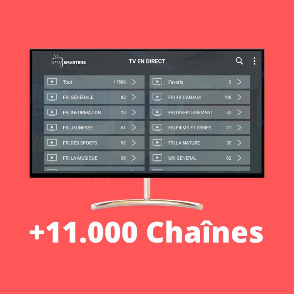 Liste chaines medium