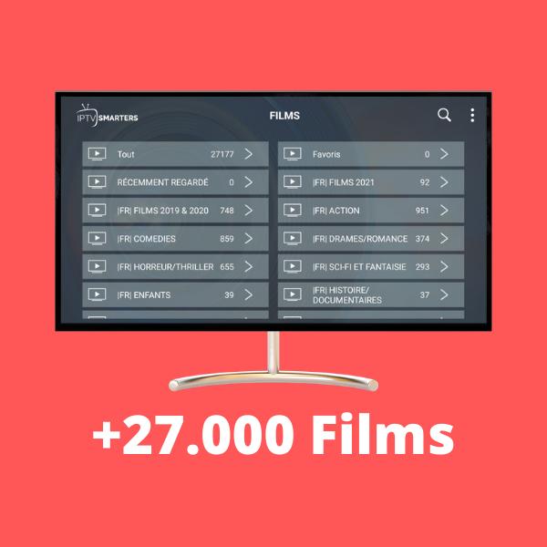 Liste films medium