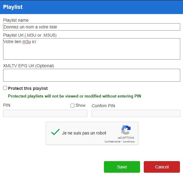 méthode playlist sur duplex play